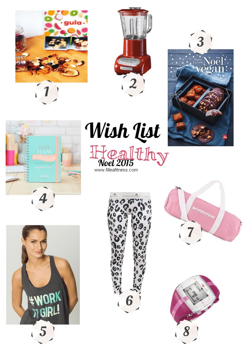 liste noel healthy fitness 2015
