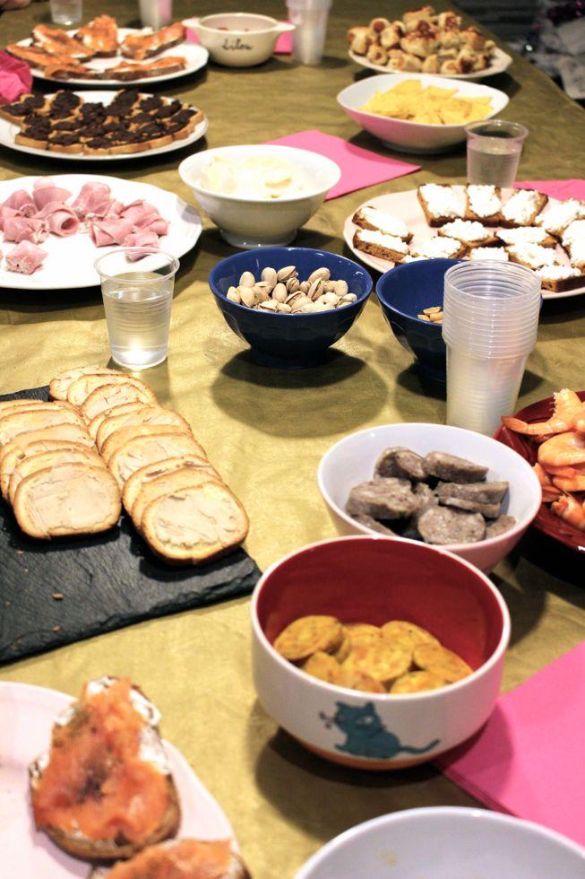 idees buffet anniversaire