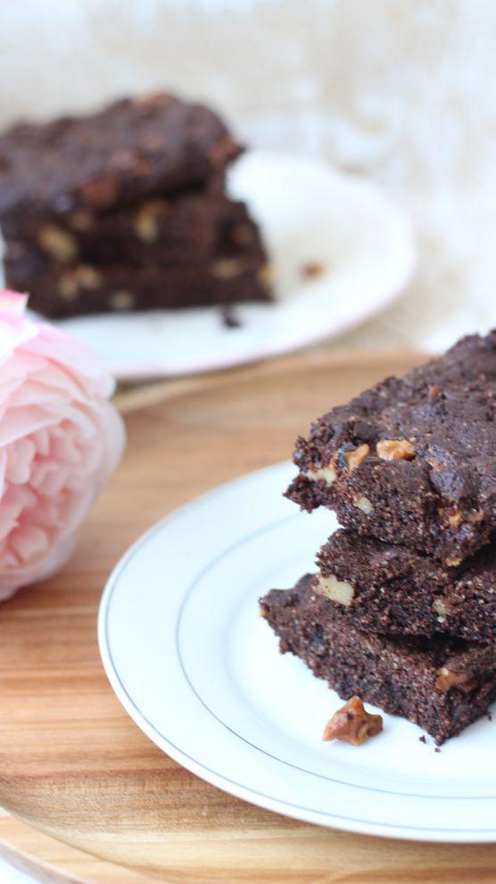 brownie chocolat puree amande
