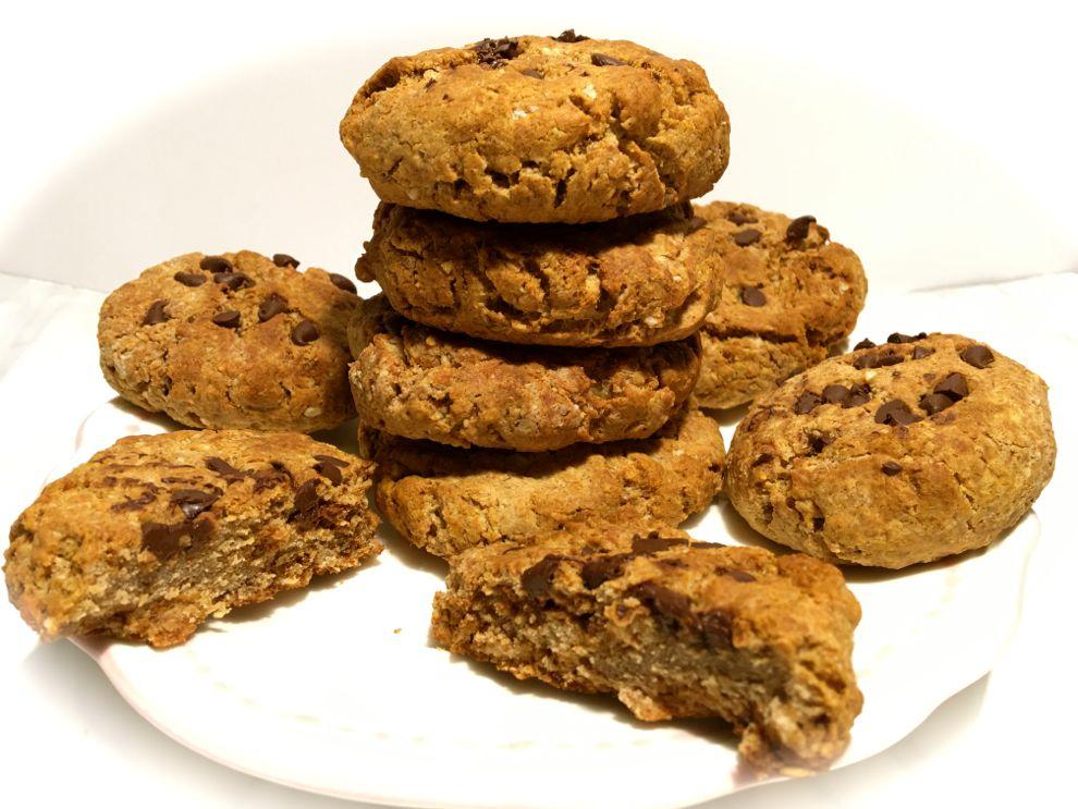 Très Recette cookies riche en protéines 15G - Fille à fitness EZ29