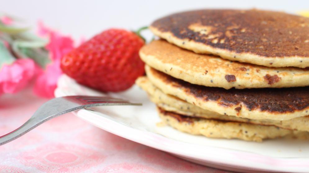 pancakes healthy au citron