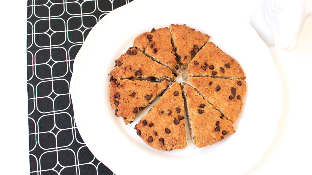 recette scones chocolat