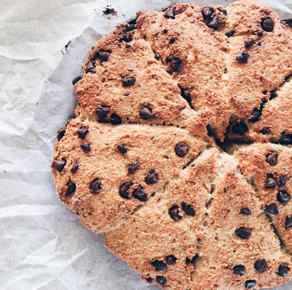 recette scones au chocolat