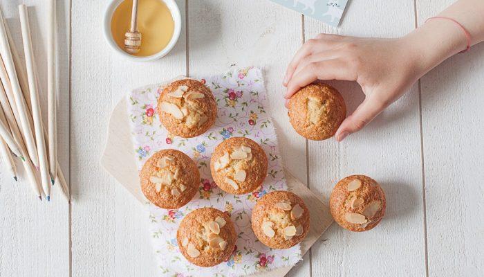 Muffins aux amandes sans farine et sans gluten