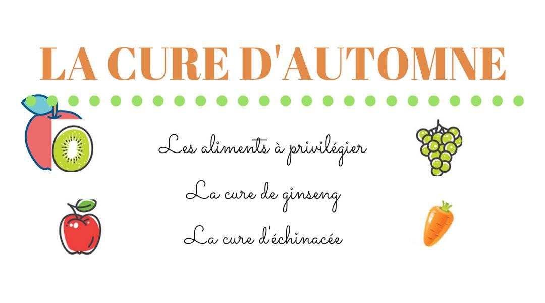 En automne, la naturopathie dit qu'il est temps de faire une cure detox.