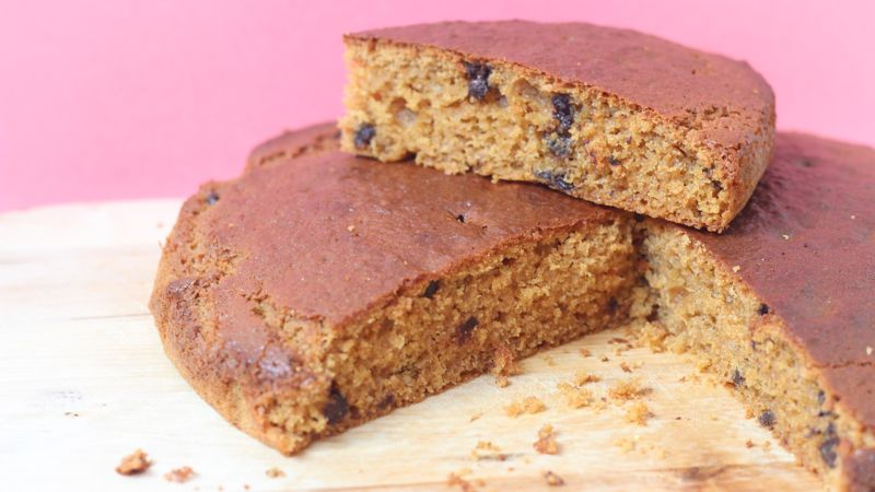 Un gâteau facile à préparer avec des enfants, une recette à base d'huile de coco.