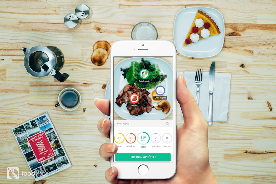 Foodvidor, la nouvelle application nutrition.