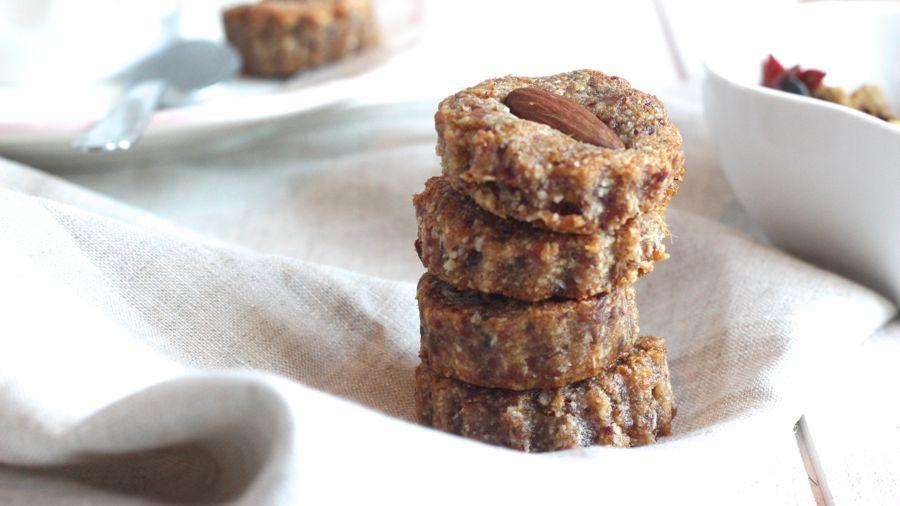Recette sans lait, biscuits healthy poudre d'amande