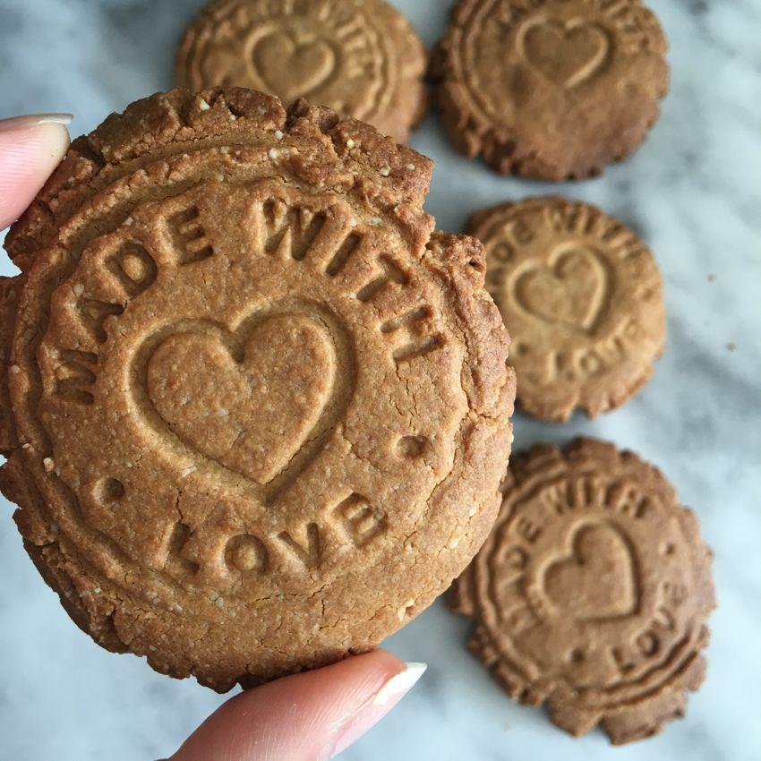 Biscuits à la protéine de pois (pea protein)
