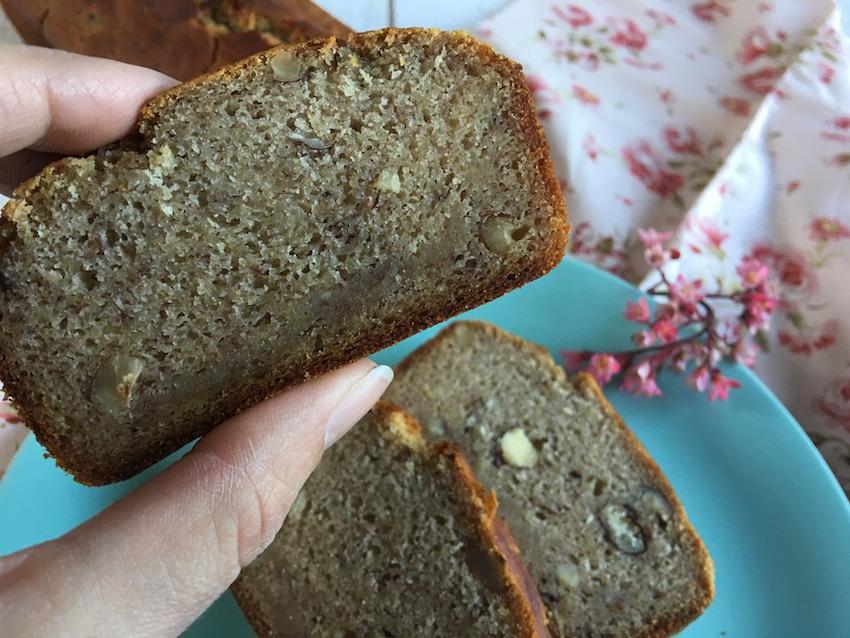 Banana bread noisettes et sans gluten