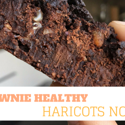 brownie aux haricots noirs