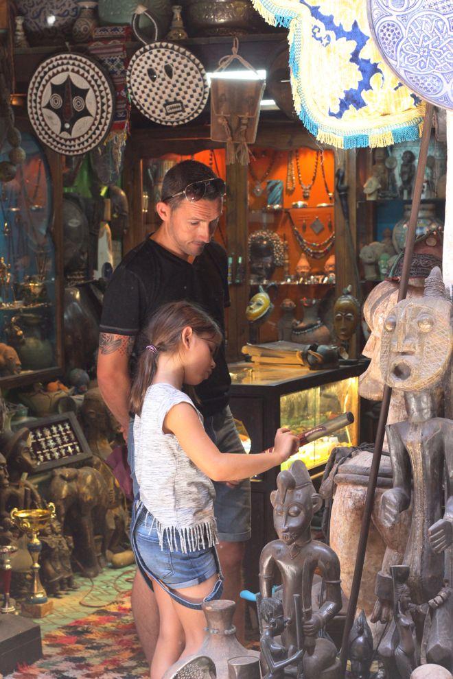 shopping-souk de marrakech