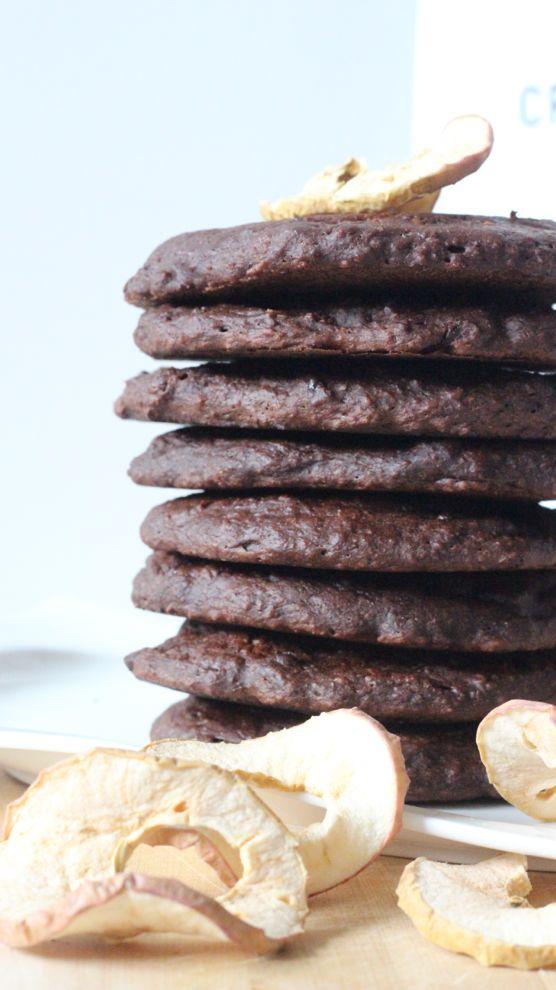 Je vous dévoile ma recette de pancakes au chocolat, simple et légère, du chocolat pour les gourmandes !