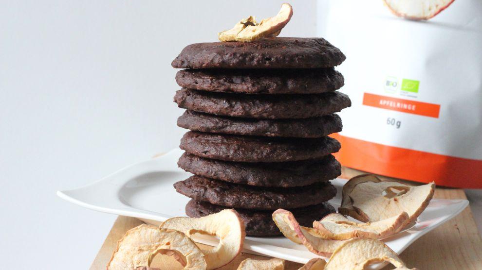 Recette pancakes au chocolat healthy