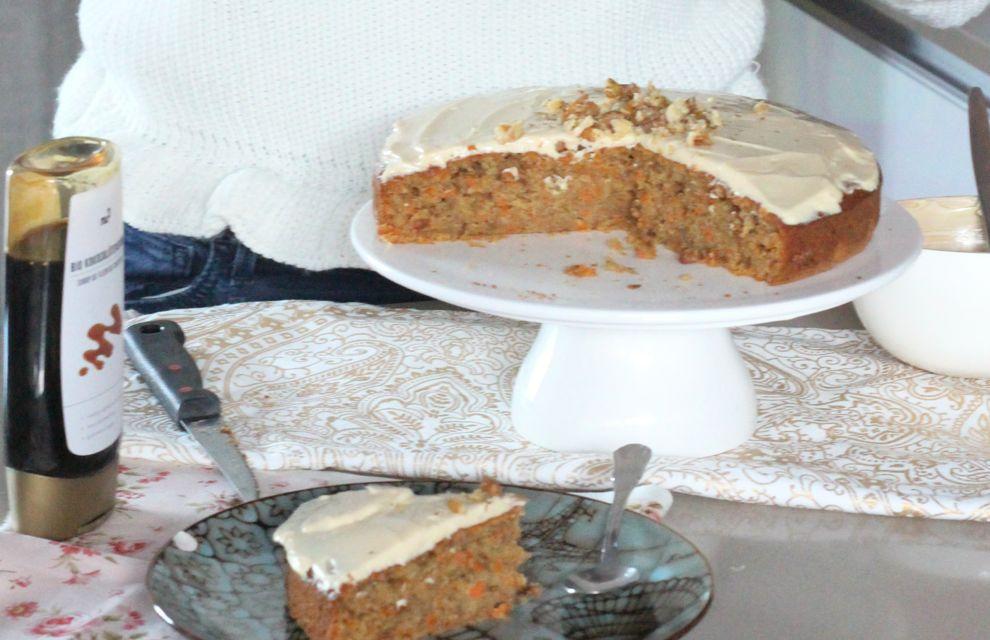 Carrot cake healthy revisité à ma façon