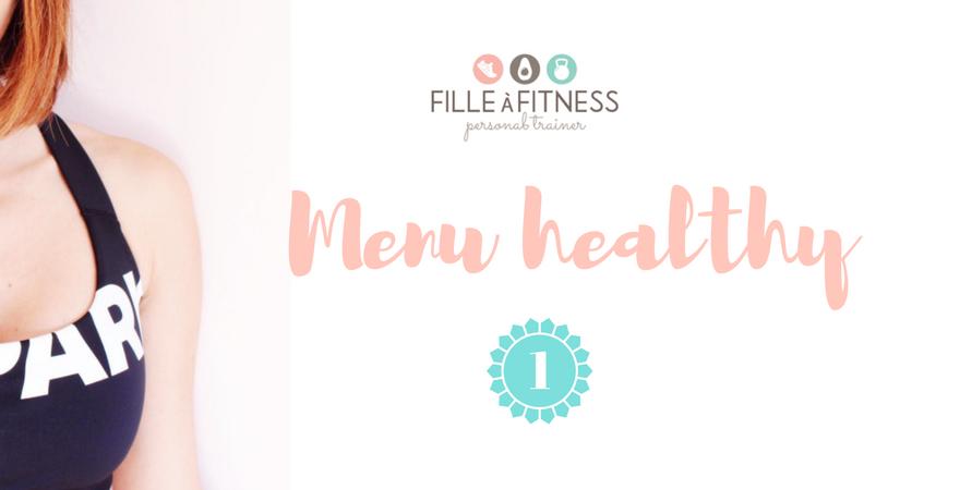 idées menu healthy