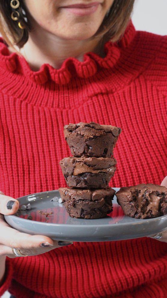 muffins coeur fondant