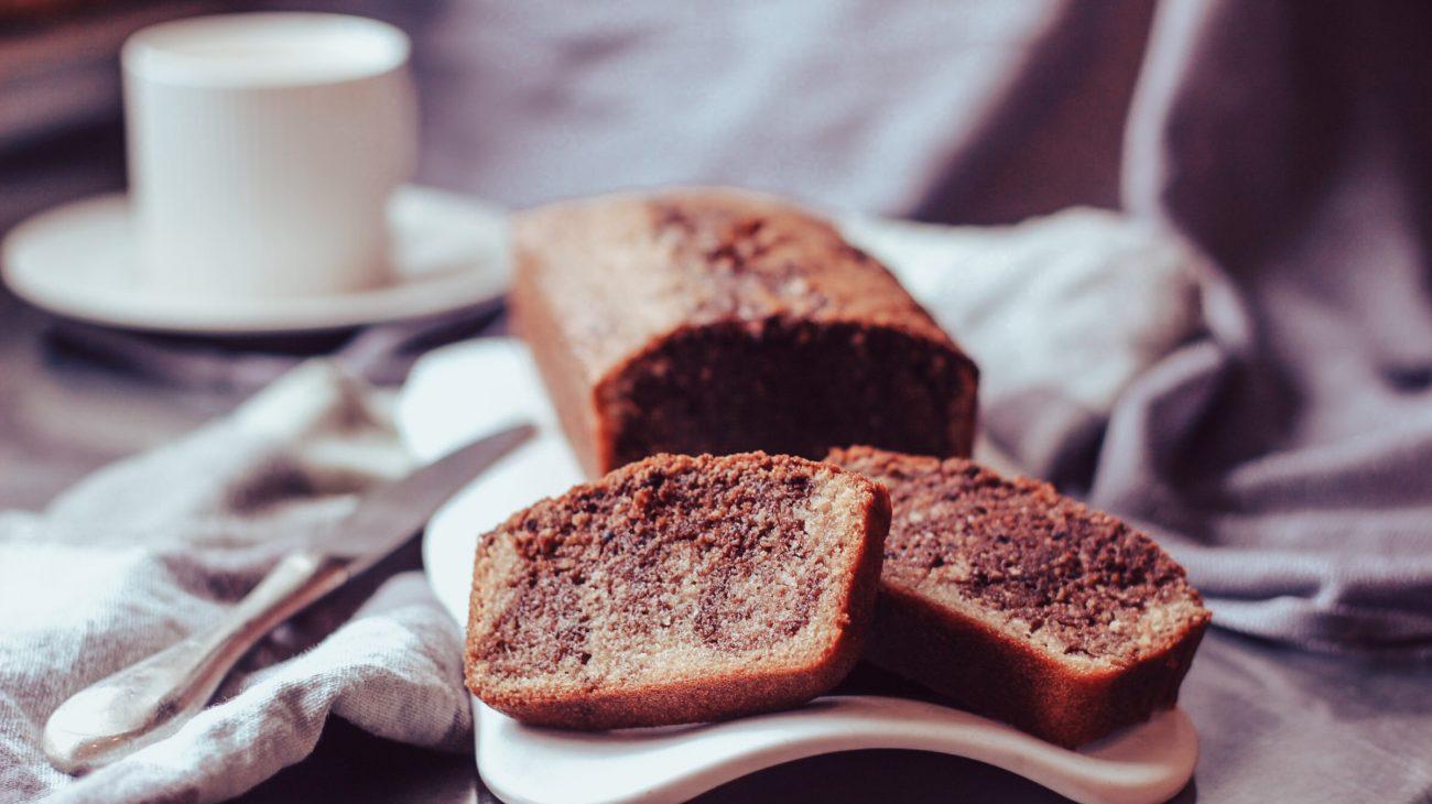 Cake marbré sans gluten moelleux et fondant